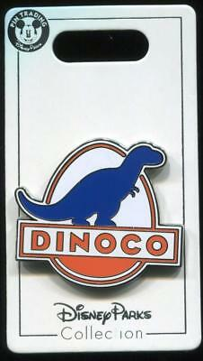 Cars Dinoco Logo Disney Pin
