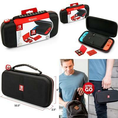 Nintendo Switch System Carrying Case – Protective Deluxe Travel System Ca... N