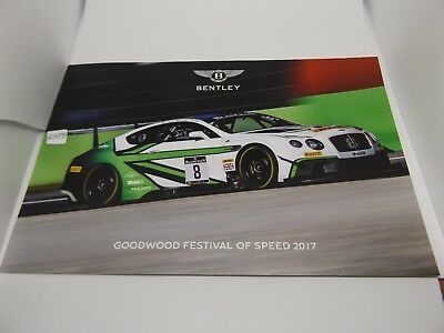 Bentley Continental Gt3 Photo Card - Goodwood Festival Of Speed 2017