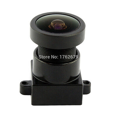 1Pcs Fisheye Camera Board Lens Wide Angle 170 Degree With Mount/ Holder