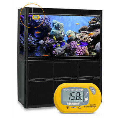 Digital LCD Fish Aquarium Water Tank Temperature Thermometer Suckers New