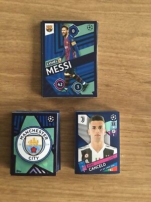 Topps Champions League Stickers 2018/19 X 10