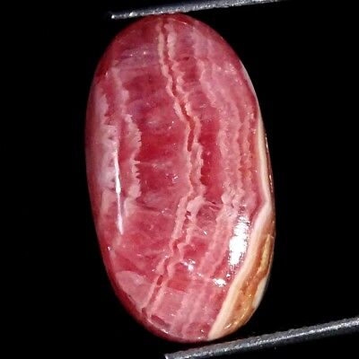 11.40Cts 100% Natural Rhodochrosite Oval Cabochon Loose Gemstone