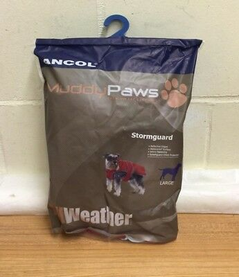 Ancol Muddy Paws Dog Puppy Coat All Weather Waterproof Winter Jacket