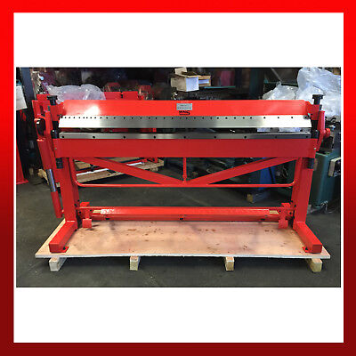 WNS Box and Pan Foot Clamping Folder / Folding Brake 2500mm x 1.0mm Capacity