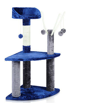 Cat Gym House Scratching Tree Post Pole Scratcher Toy Furniture 95cm i.Pet