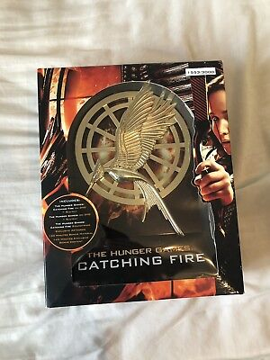 The Hunger Games Catching Fire Ultimate Deluxe Edition Blu-ray #1553