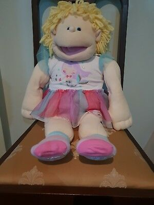 Vintage The Real Rigadoon Puppet Doll Gang Priscilla