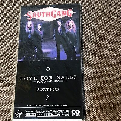 "Promo SouthGang Love For Sale /Tainted Angel JAPAN 3"" CD VJDP-10149 Sealed?"