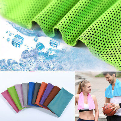 Practical Running Enduring Cold Chilly Pad Sports Ice Towel Instant Cooling Hot