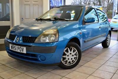 Renault Clio 1.2 EXPRESSION 16V 2001/51 TAKEN IN PART EXCHANGE AND PRICED TO CLE