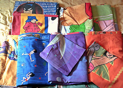 Lot Disney Winnie Jungle book Ariel Housse de couette linge lit bedding vintage