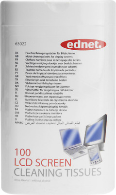 Ednet LCD, LED, TFT, Plasma Bildschirmreinigungstücher Clean! LCD Screen Cleanin