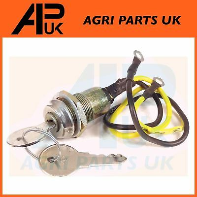 New TWO 8N3679C Ford Ignition Switch W// 2 Keys 501 600 601 700++ 2