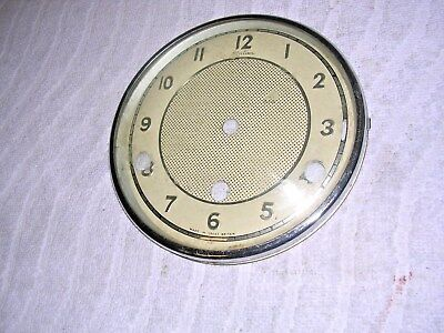 Clock  Parts ,  Chrome  Bezel,  With   Face