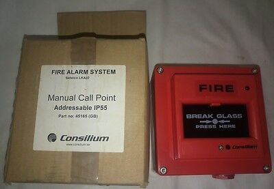 Consilium Salwico LKA-02 Manual Call Point P/n 45165 (GB)
