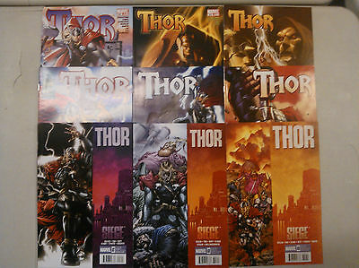 Thor - Marvel - 2009 - Issues 600-609 except 601 - Nice Run