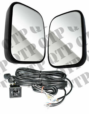 Universal Heated/ Remote Adjustable Mirror Kit including Loom & Switches