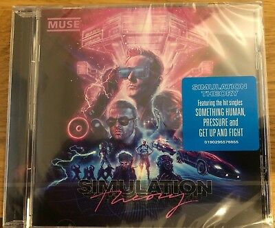Muse Simulation Theory Cd - Brand New And Sealed 2018 - Free U.k. Postage