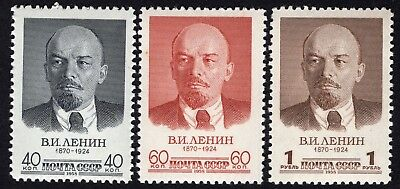 Russia USSR 1958 complete set of stamps Zagor#2052-2054 MNH CV=7$