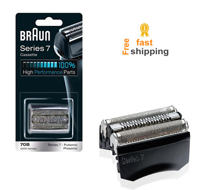 foil cassette replacement head for braun shaver trimmer for series 7 70b for men