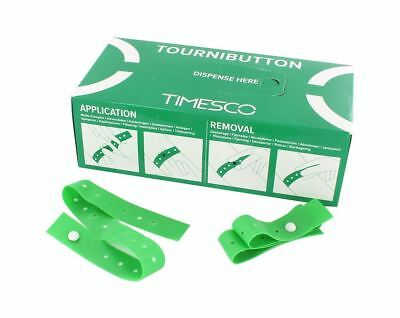 Single Use Tourniquets , TourniButton ( Dispenser Box of 100)