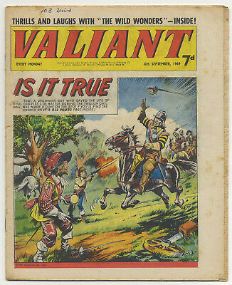 Valiant 6th Sept 1969 (high grade copy) Steel Claw, Mytek, Kelly's Eye