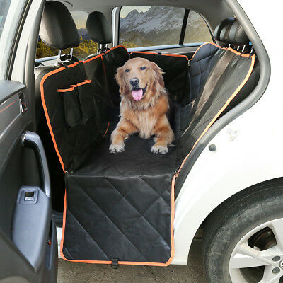 Pet Car Back Rear Seat Cover Waterproof Hammock Suv Protector Mat Dog Cat Travel