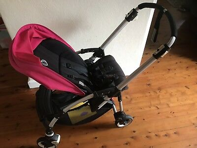 Bugaboo Bee Stroller Pink And Black