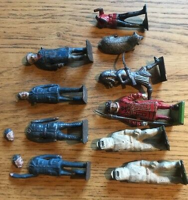 Vintage Britains Lead/ Metal Soldiers & Figures.