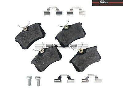 Citroen Berlingo 1996> 1.6 2.0 Hdi Rear Brake Pads Srl S70-1001