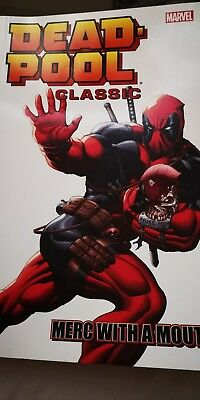 MARVEL Deadpool Merc With A Mouth graphic novel