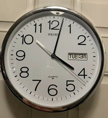 Seiko Wall Clock Vintage- Days of the week