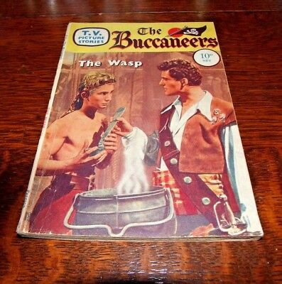 VINTAGE - THE BUCCANEERS - TV Picture Stories - 1959