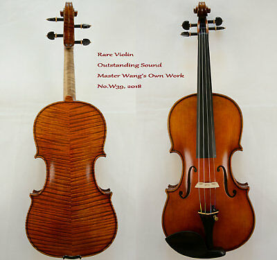 Rare Violin Master Wang's own Work  Outstanding Sound No.W39,2018