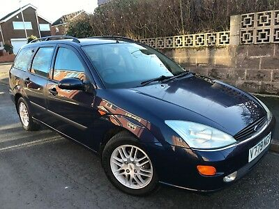 Ford Focus 1.8 Turbo Diesel GHIA Estate. MOT Jan 2020. 12 Service Stamps.