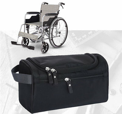 Wheelchair Armrest Storage Side Bag Pocket Travel Pack/Scooter Walker Rollators
