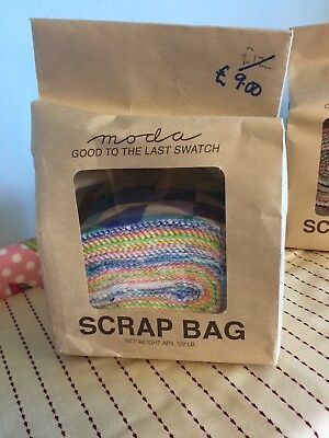 Moda Scrap Bag - Pastel Colours