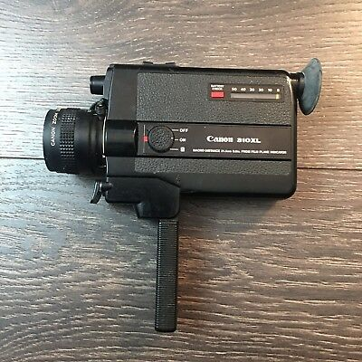 Canon 310XL Super 8 Movie Camera For Parts Not Tested As Is