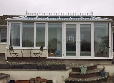 used conservatory - White - All Doors & Windows