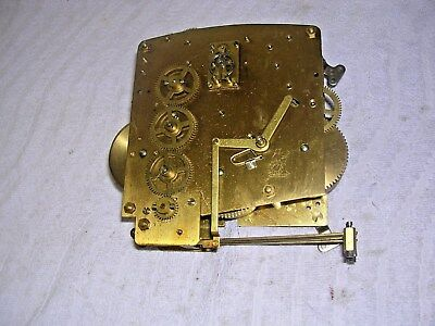 Clock  Parts Clock Movement ,4 Hammers,  Platform Esc