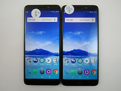 Lot of 2 Alcatel 7 6062W Metro PCS Check IMEI Near Mint Condition 5-348