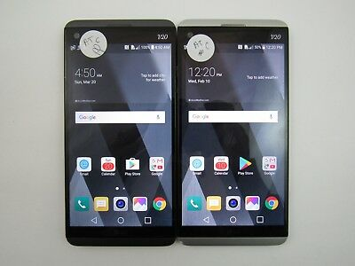 Lot of 2 LG V20 H910 ATT Check IMEI Fair Condition 5-1329