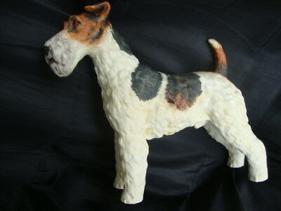 Statuetta Fox Terrier Andrea by Sadek