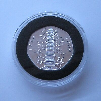 2009 Kew Gardens 50p Coin (Collectable Souvenir Proof Coin) (See Details)