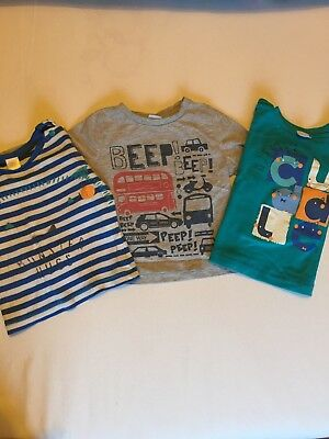 Boots Mini Club 9-12 Months Baby Boy Set Of 3 Long Sleeve Tops