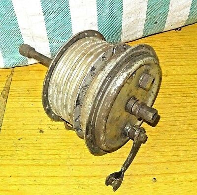 "Amc James Francis Barnett Front Wheel Hub & 6"" Brake Plate  Vintage Barn Find"