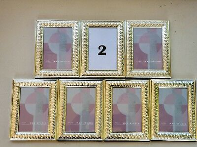 Max Studio Home Picture Frame 4 By 4 Metal New 2050 Picclick