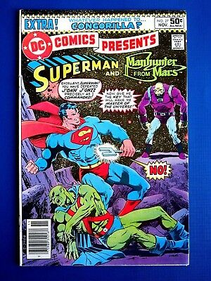 DC COMICS PRESENTS #27 (NOV 1980) VF/NM Superman 1st Appearance MONGUL Key issue