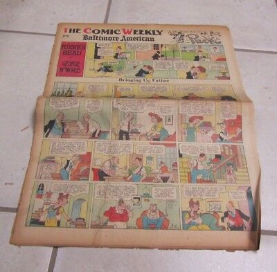 February 1 1942 Baltimore American Weekly Color Comic Section Ginger Rogers 16pg